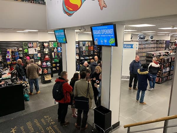 Frank Quitely Designs Fill New Forbidden Planet Comics Store, Opening in Glasgow Tomorrow