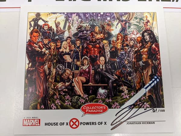 Last Day to Order Signed, Numbered and Bookplated House Of X/Powers Of X Hardcover by Jonathan Hickman