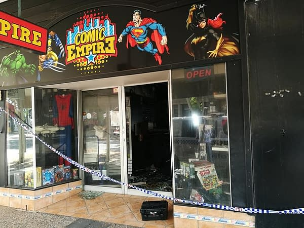 Comic Empire, Australian Comic Store, Closed After Burning Down