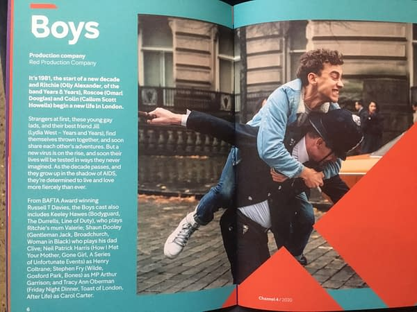 """First Glimpse of Olly Alexander in Russell T Davies' """"Boys"""" From Channel 4"""