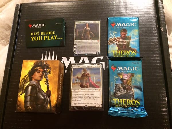 """Review: """"Theros: Beyond Death"""" PW Decks - """"Magic: The Gathering"""""""