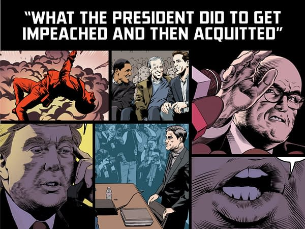 Anthony Del Col and Josh Adams Tell The Story of Donald Trump's Impeachment