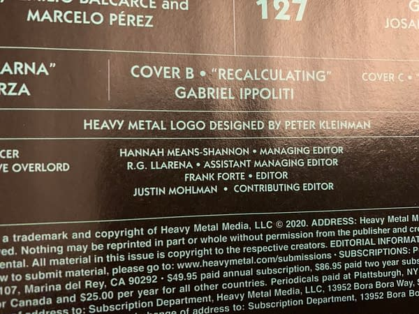 Tim Seeley is the New Editor-In-Chief of Heavy Metal Magazine