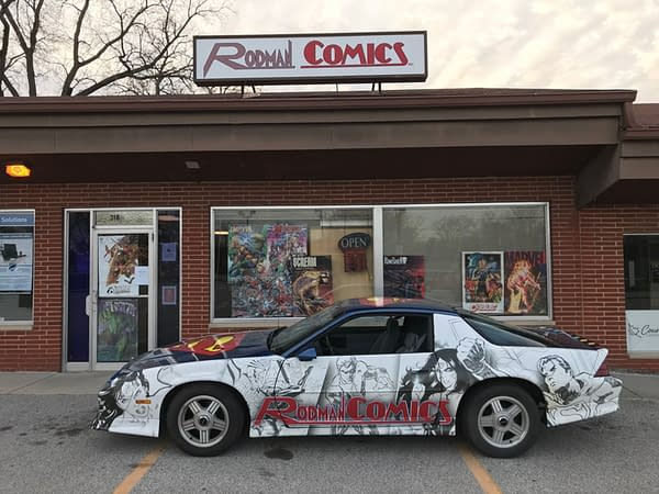 Comic Store In Your Future - A Whole Lot Of Not Knowing