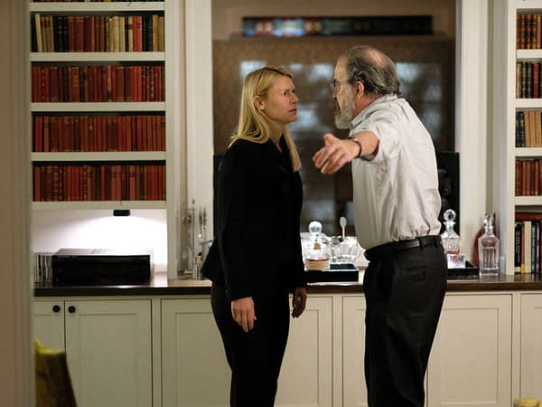 After eight seasons, Saul and Carrie face off in the series finale of Homeland, courtesy of Showtime.