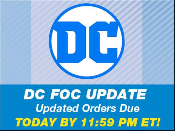 Thank FOC It's Monday for DC Comics, UCS, Lunar and Diamond.