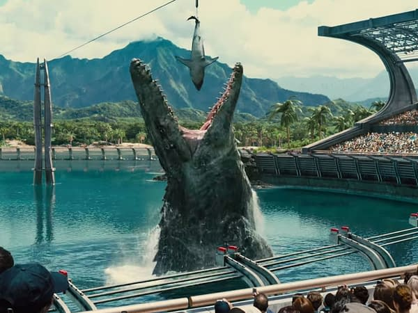 You can enter a contest to be eaten by a dinosaur in Jurassic World 3. Credit Universal Pictures