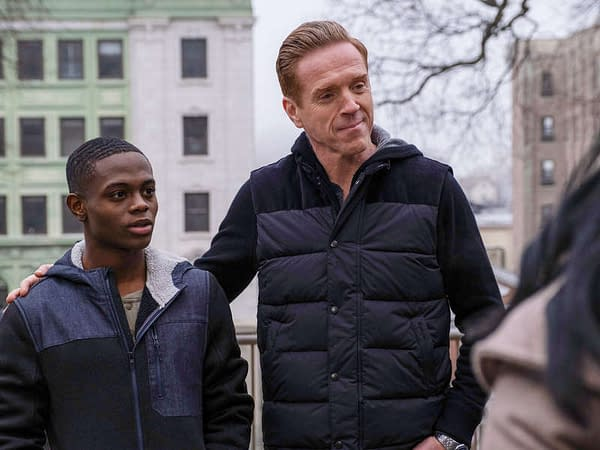 "Here's a look at Billions season 5, episode 4 ""Opportunity Zone"", courtesy of Showtime."