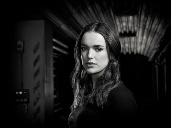 "MARVEL'S AGENTS OF S.H.I.E.L.D. - ABCs ""Marvel's Agents of S.H.I.E.L.D."" stars Elizabeth Henstridge as Jemma Simmons. (ABC/Matthias Clamer)"