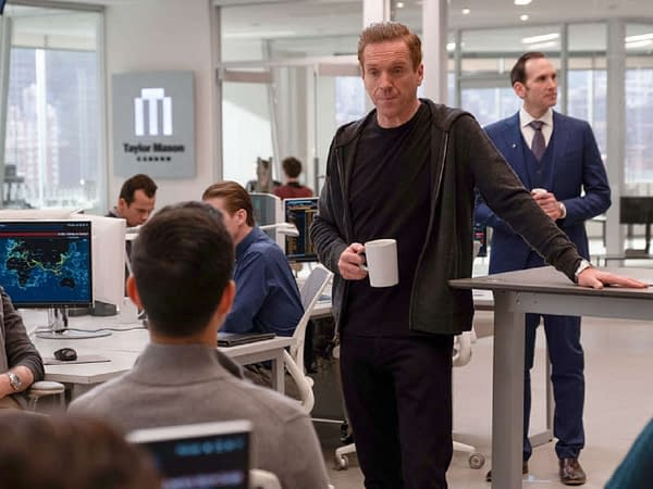 """A scene from Sunday night's Billions, """"The Limitless Shit."""" (Image: Showtime)"""