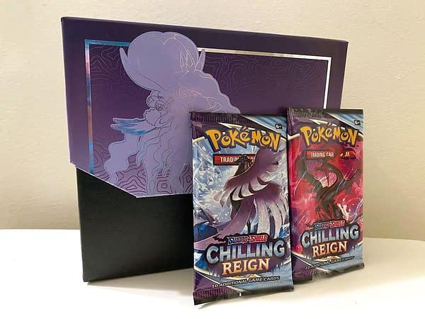 Chilling Reign ETB. Credit: Pokémon TCG