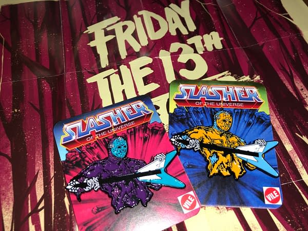 Vile Consumption Combines Horror and Pop Culture with Collectible Pins