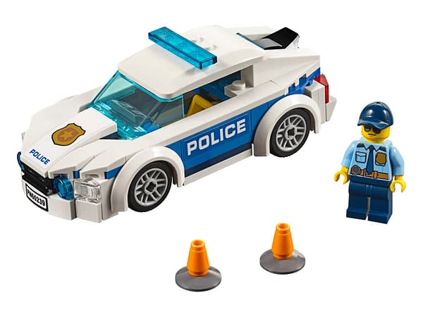 A look at Police Patrol Car 60239, courtesy of The LEGO Group.