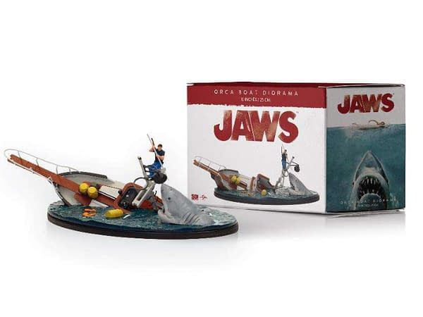 Celebrate Jaws 45th Anniversary With New Collectibles from SD Toys