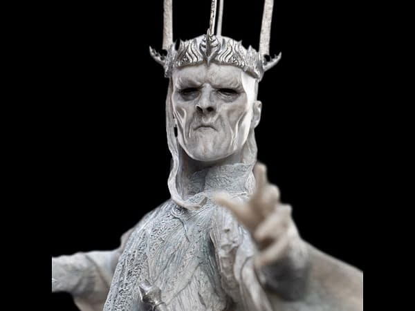 New Lord of The Rings Witch King and Frodo Statue from Weta Workshop