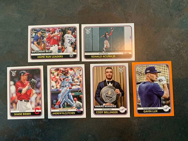 Unboxing The Super7/Topps  2020 MLB Big League Cards & Figure Box