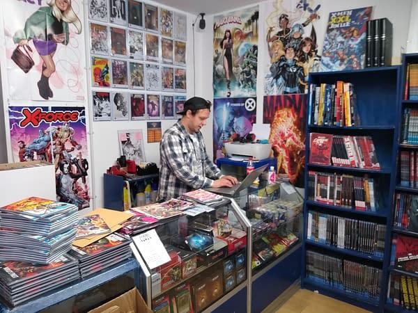 Piranha Comics of London, Revitalised in Lockdown, Hiring Staff