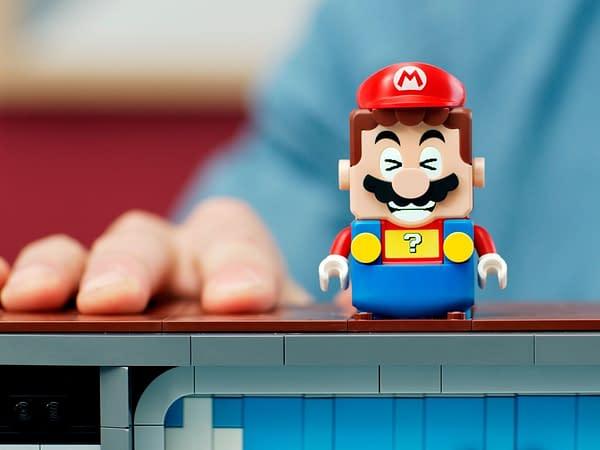 LEGO Announces Buildable NES System That Plays Super Mario Bros!