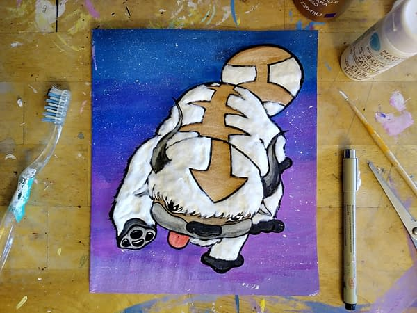 Avatar: The Last Airbender: How Anime Fans Can Make a DIY Appa Card
