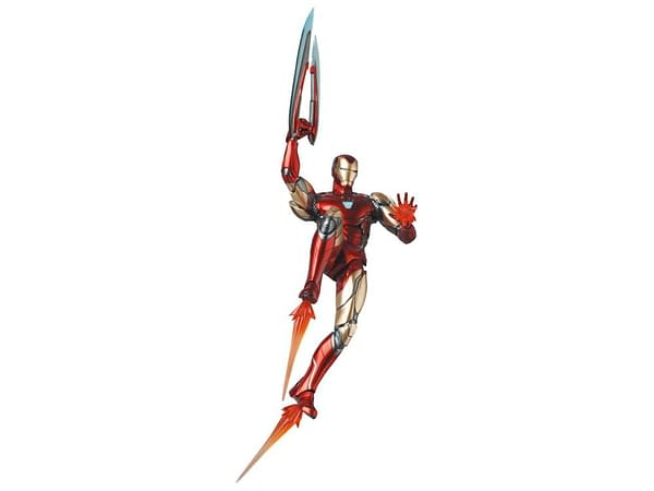 Iron Man Joins MAFEX With His Avengers: Endgame Appearance