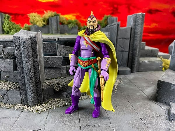 Flash Gordon Gets New Figures from Boss Fight Studio
