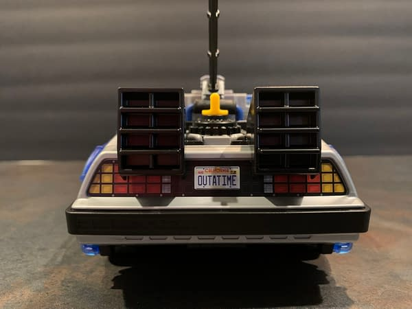 Let's Take A Look At The Playmobil Back To The Future Delorean