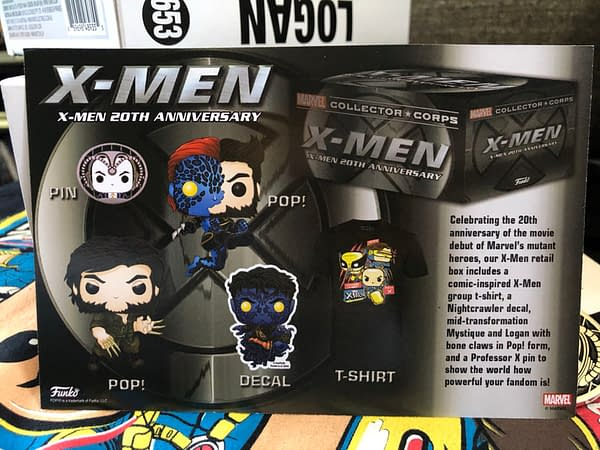 We Unbox the Funko X-Men 20th Anniversary Mystery Box