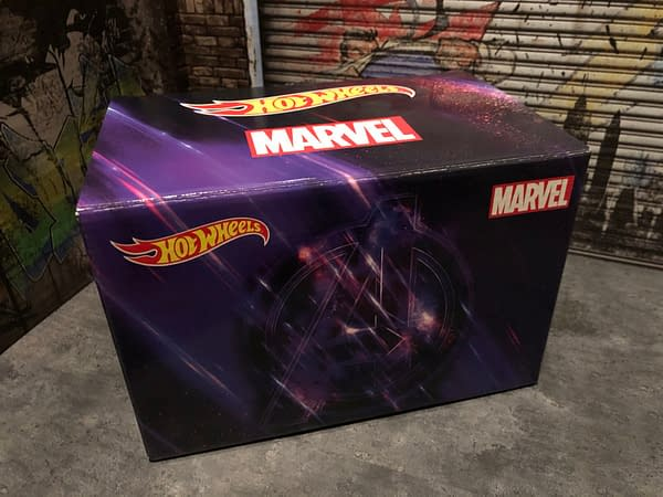 SDCC Hot Wheels from Mattel Have Arrived, Let's Take a Look!