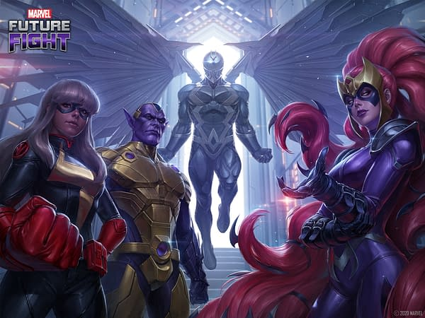 Are you ready for one of the biggest fights in Marvel Future Fight history? Courtesy of Netmarble.