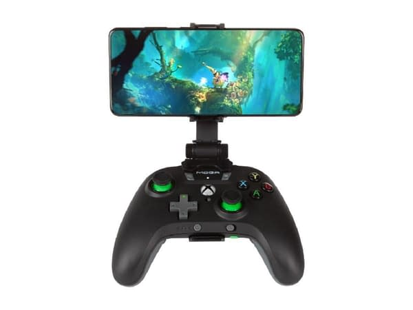 A look at the MOGA XP5-X Plus Bluetooth Controller, courtesy of PowerA.