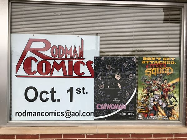 Look At Where We Are and Where We Started, Comic Store In Your Future