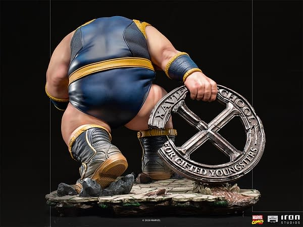 The Blob Takes on the X-Men in New Iron Studios Marvel Statue