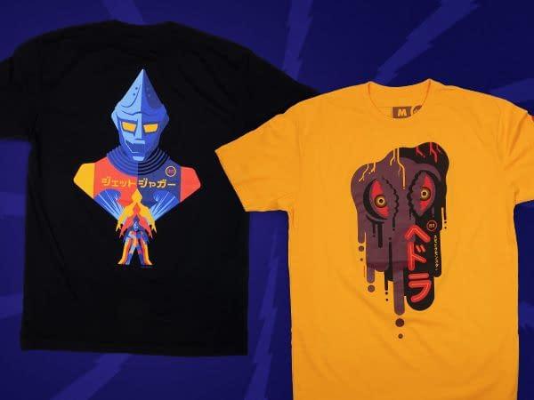 Mondo Releases New Godzilla Shirts, Puzzle, And Pins
