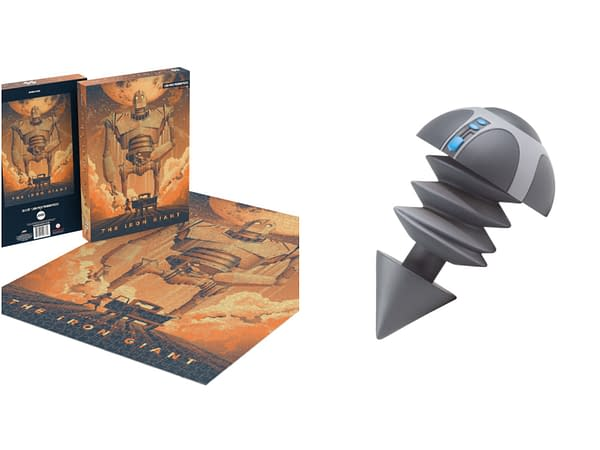 Iron Giant Bolt Figure And Puzzle Now Available From Mondo