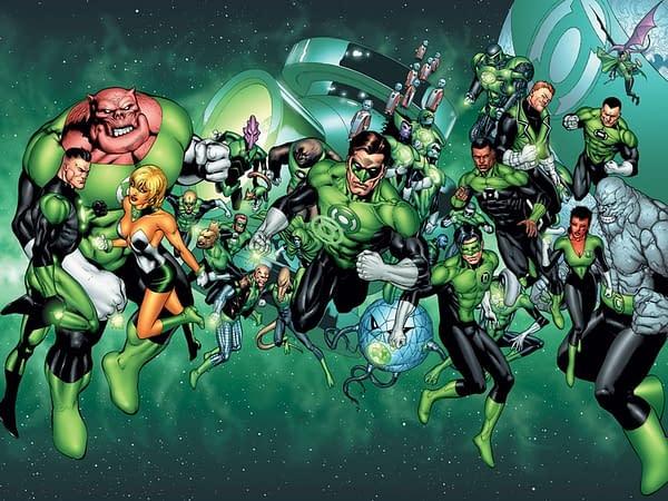 Green Lantern Corp (Image: DC Comics)