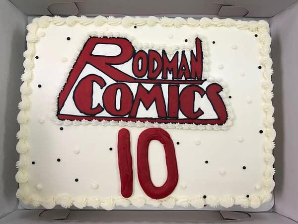 Happy Tenth Birthday To Rodman Comics - Comic Store In Your Future