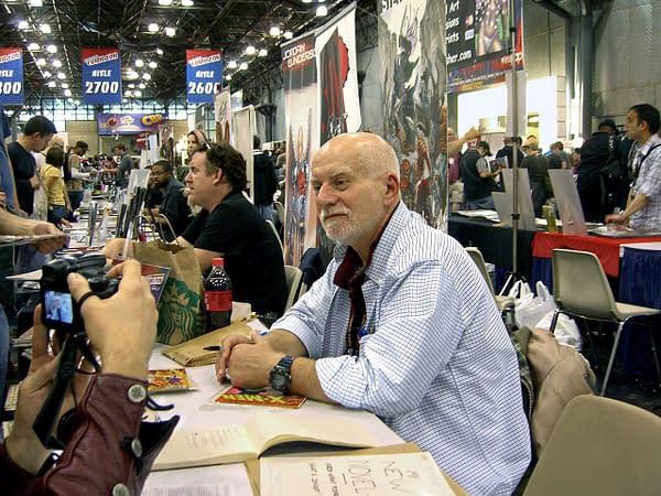 Photo of Chris Claremont by Luigi Novi, CC BY 3.0, via Wikimedia Commons