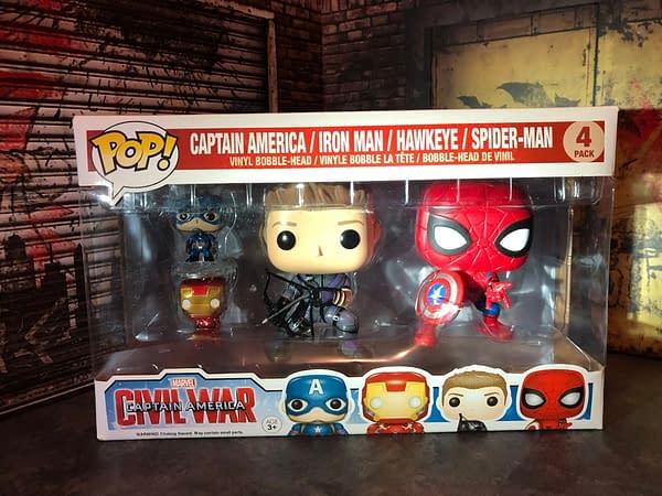 Funko MCU - Captain America: Civil War (2016) Team Iron Man