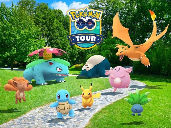 Pokémon GO Tour: Kanto promo image in Pokémon GO. Credit: Niantic