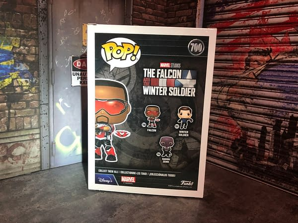 The Falcon and the Winter Solider Funko Pops Surprisingly Hit Stores