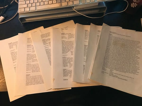 Alan Moore Faxed Gen 13 Script Now At $2500 On eBay