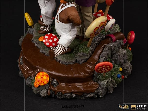 Willy Wonka and His Chocolate Factory Arrives at Iron Studios