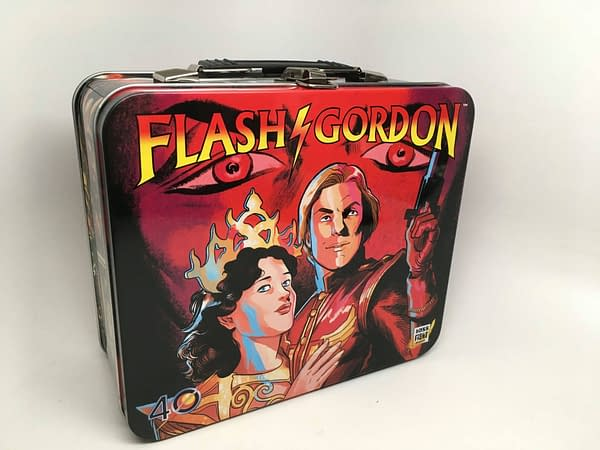 Flash Gordon Lunchbox Set From Boss Fight Studios Arrives Today