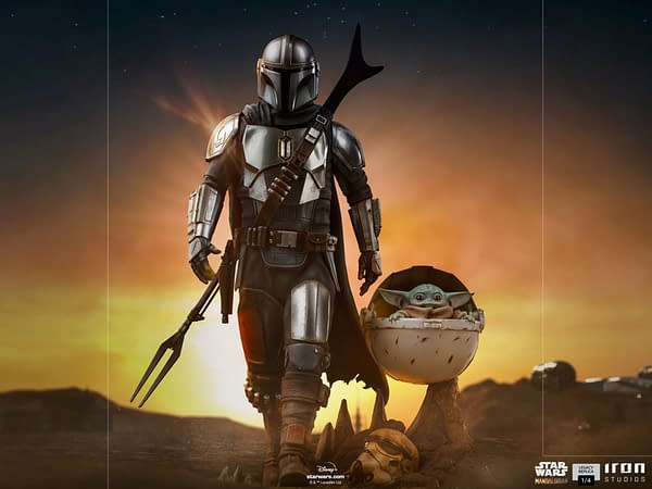 The Mandalorian and The Child Get New Legacy Statue From Iron Studios