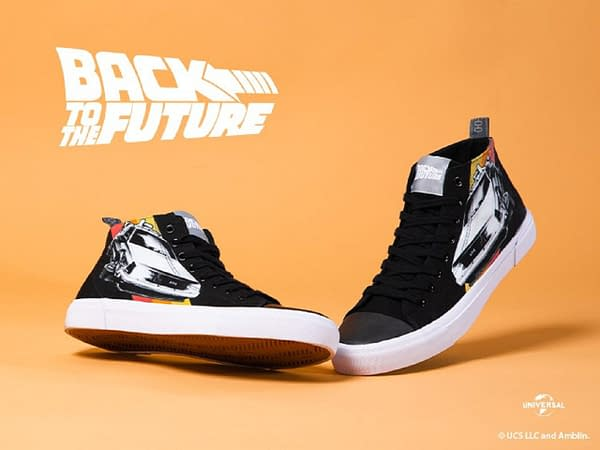 Marty! We have to go back... to get these sneakers! Courtesy of Zavvi.