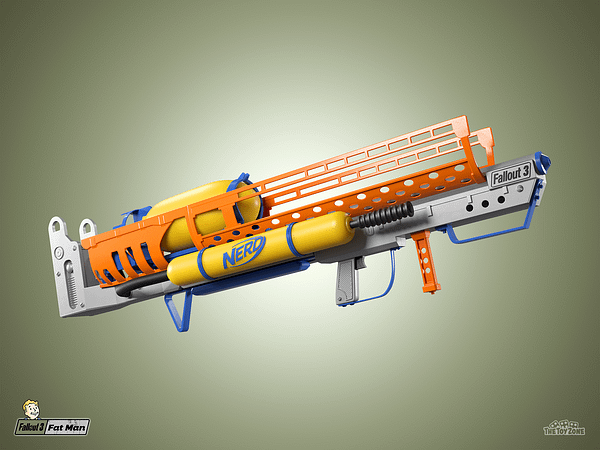 TheToyZone Reveals Idea For Video Game Themed NERF Guns