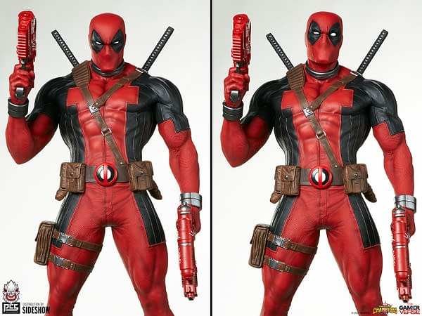 Deadpool Enters the Contest of Champions with Sideshow and PCS