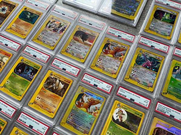 More slabbed and graded cards from the Pokémon Trading Card Game up for auction this month on the Whatnot app.