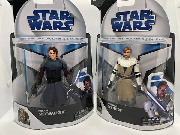 In-Hand Look At New Star Wars: The Clone Wars Target Exclusive Figures
