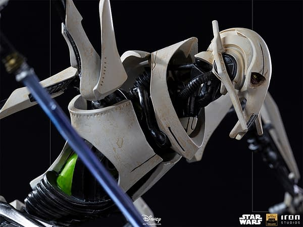General Grevious Prepares For War With Iron Studios Star Wars Statue
